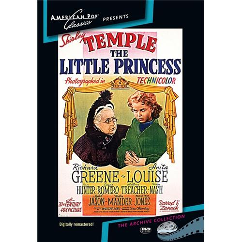 The Little Princess DVD Movie 1939 874757016191