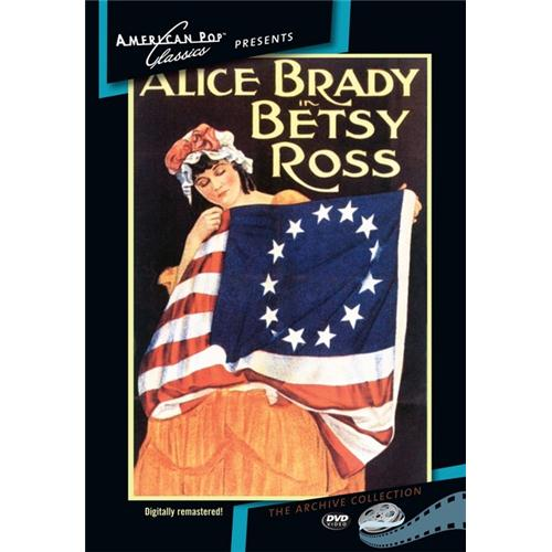 Betsy Ross DVD Movie 1917 - Documentary Movies and DVDs