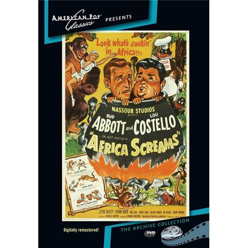 Africa Screams DVD Movie 1949 - Comedy Movies and DVDs