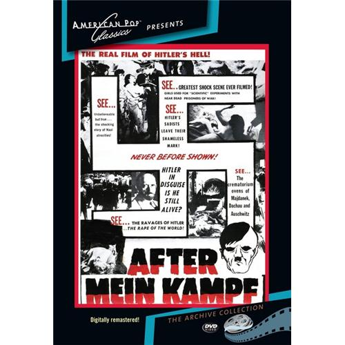 After Mein Kampf DVD Movie 1940 - Documentary Movies and DVDs