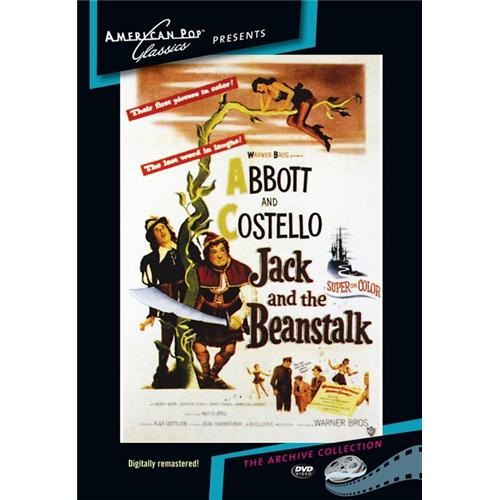 Jack And The Beanstalk DVD Movie 1952 874757026695