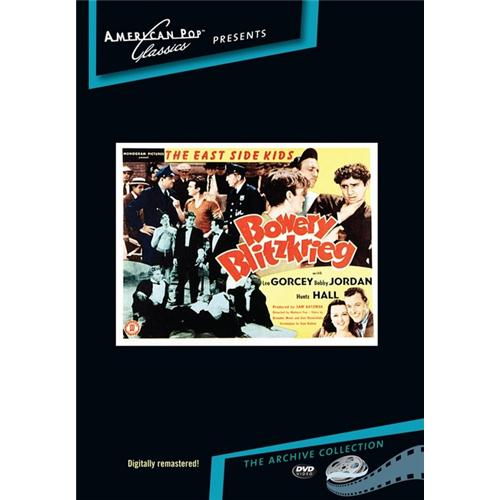 Bowery Blitzkrieg DVD Movie 1941 - Comedy Movies and DVDs