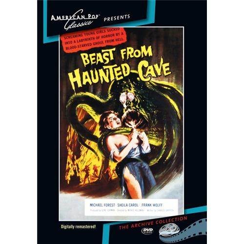 Beast From Haunted Cave DVD Movie 1959 - Horror Movies and DVDs