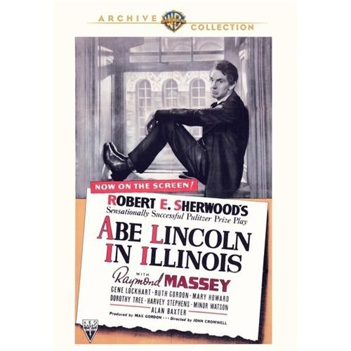Abe Lincoln In Illinois DVD Movie 1940 - Drama Movies and DVDs