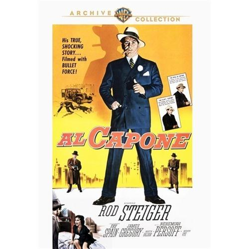 Al Capone DVD Movie 1959 - Documentary Movies and DVDs