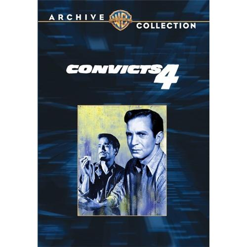 Convicts Four DVD Movie 1962 883316127117