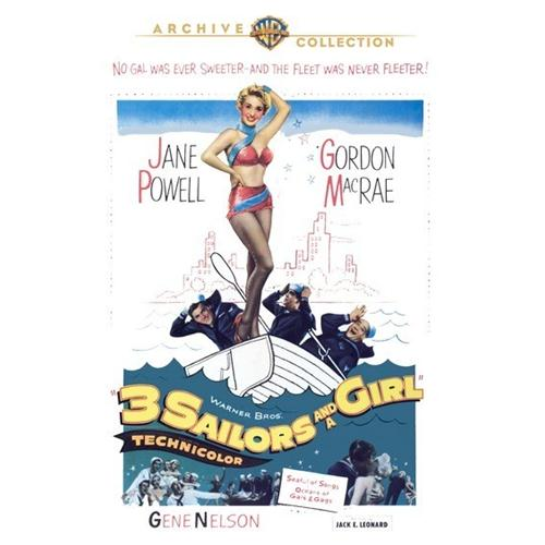 3 Sailors And A Girl DVD Movie 1953 - Music Video and Concerts Movies and DVDs