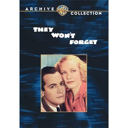 They Wont Forget (1937) DVD Movie 1937 883316213742