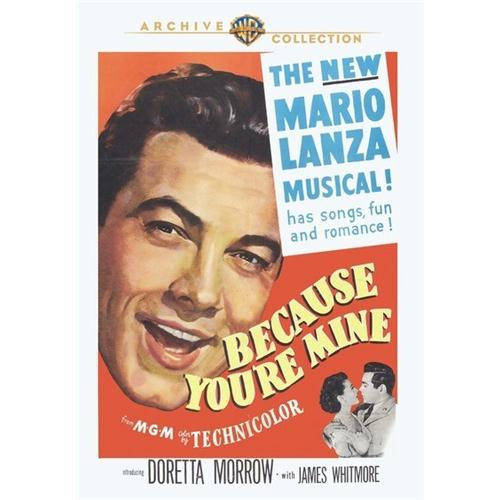 Because Youre Mine DVD Movie 1952 - Music Video and Concerts Movies and DVDs