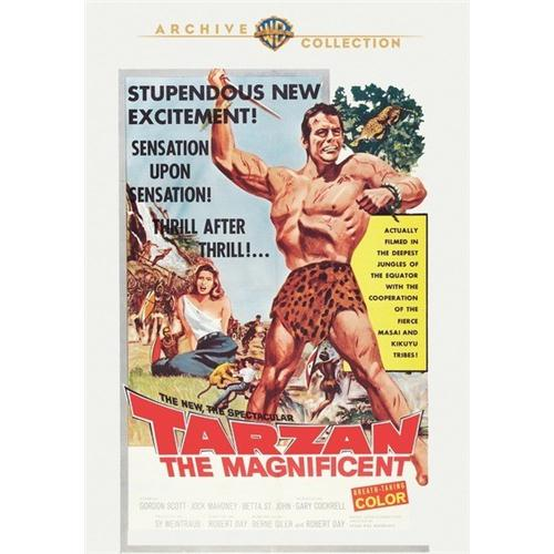 Tarzan The Magnificent DVD Movie 1960 883316221075