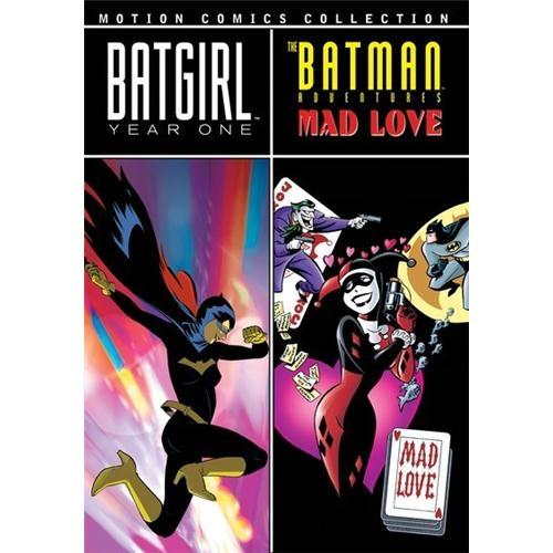 Batgirl Year One Batman Adventures Mad Love DVD Movie 2009 883316225721
