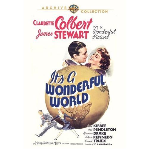 Its A Wonderful World DVD Movie 1939 883316228647