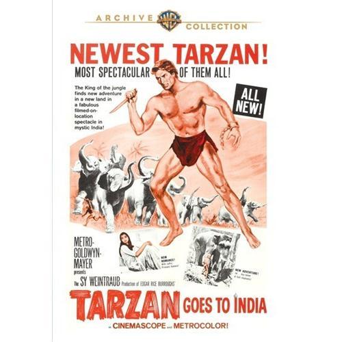 Tarzan Goes To India (1962) DVD Movie 1962 883316242582
