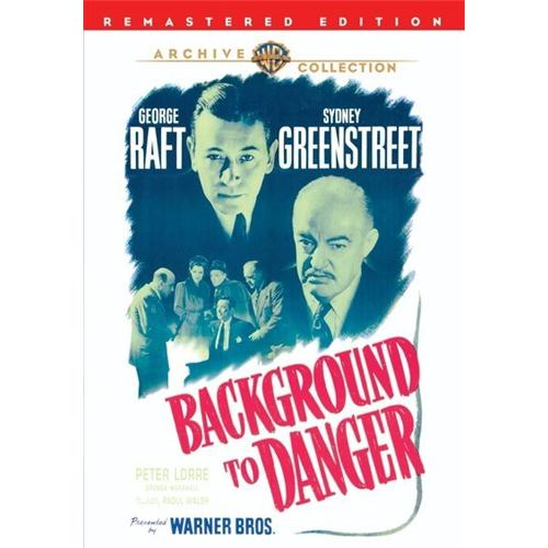 Background To Danger DVD Movie 1943 - Drama Movies and DVDs