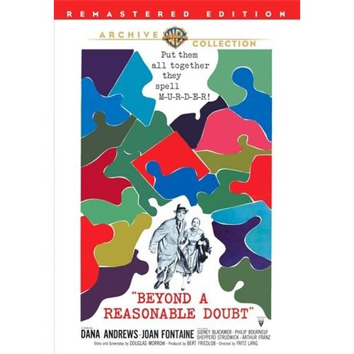 Beyond A Reasonable Doubt (1956) DVD Movie 1956 - Drama Movies and DVDs