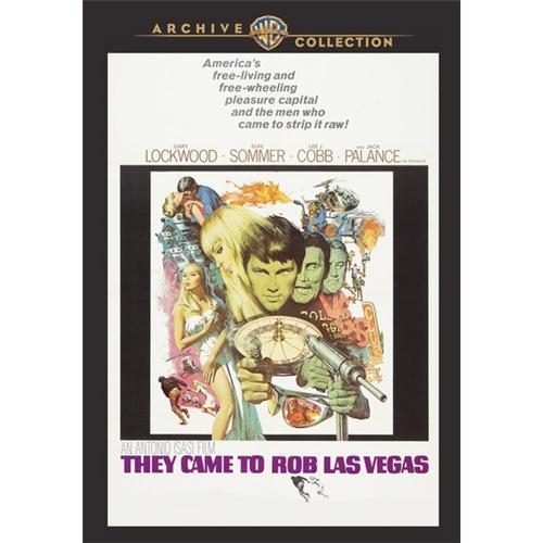 They Came To Rob Las Vegas DVD Movie 1969 883316276341