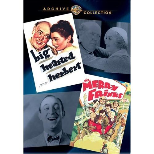 Big Hearted Herbert Disc 1 DVD Movie 1934 - Comedy Movies and DVDs
