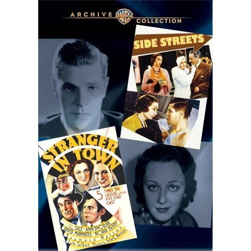 Wac Double Features: Side Streets/Stranger In Town(2 Disc Set) DVD Movie 1934 883316276990