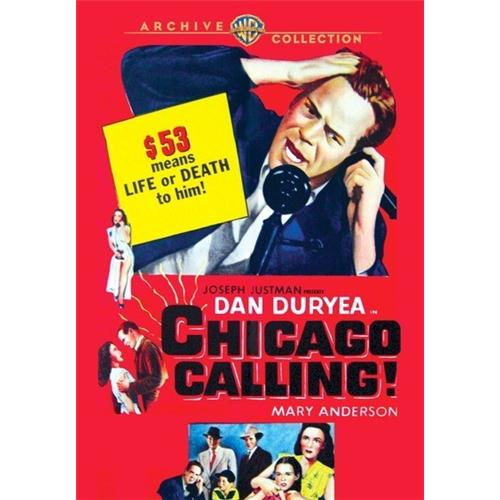 Chicago Calling (1952) DVD Movie 1952 883316312834