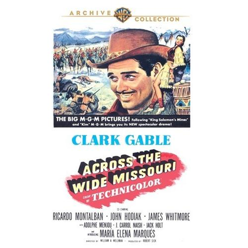Across The Wide Missouri DVD Movie 1951 - Drama Movies and DVDs