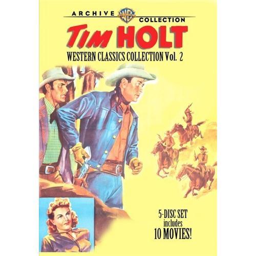 Tim Holt Western Classic Collection Vol.2ction Vol 2 (5 Disc Set) DVD Movie 1943-50 883316362907