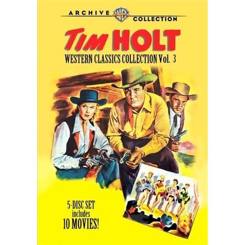 Tim Holt Western Classics Collection Vol.3vol 3 (5 Disc Set) DVD Movie 1950-52 883316382530