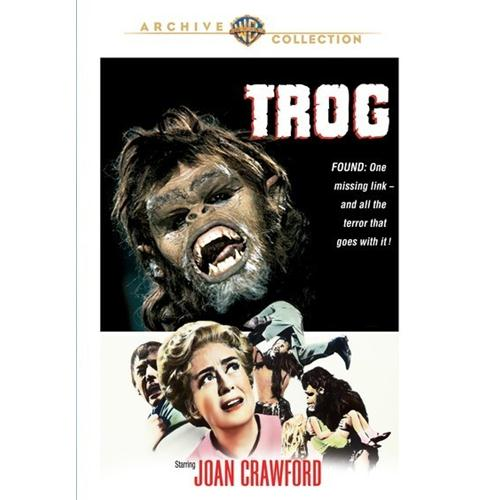 Trog DVD Movie 1970 - Science Fiction Fantasy Movies and DVDs