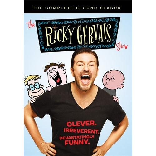 The Ricky Gervais Show: The Complete Second Seasonn 2 (3 Disc Set) DVD Movie 2011 883316399767