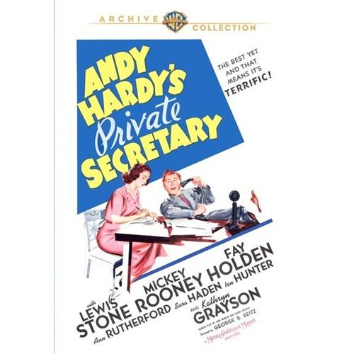Andy Hardys Private Secretary DVD Movie 1941 - Comedy Movies and DVDs