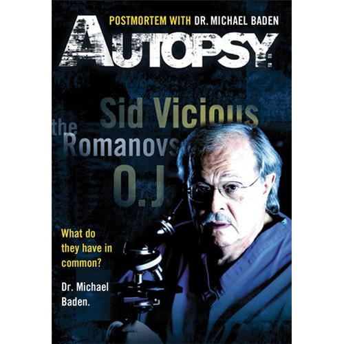 Autopsy: Postmortem With Dr. Michael Baden DVD Movie 2008 - Documentary Movies and DVDs