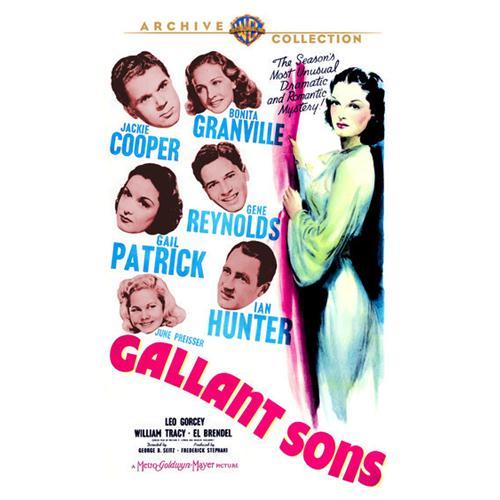 Gallant Sons DVD Movie 1940 883316470701