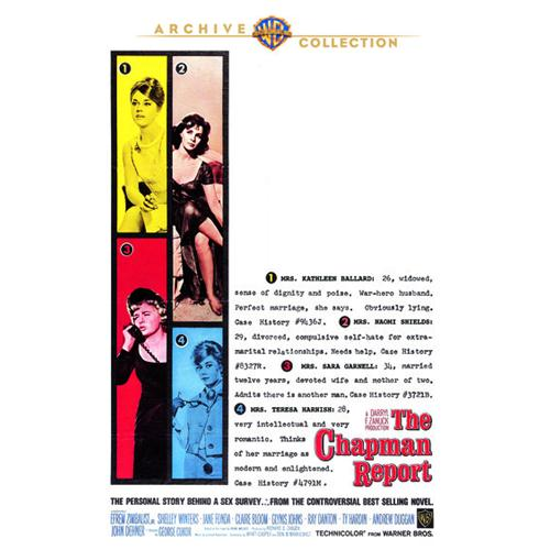 Chapman Report, The(Dvd9) DVD Movie 1962 - Comedy Movies and DVDs