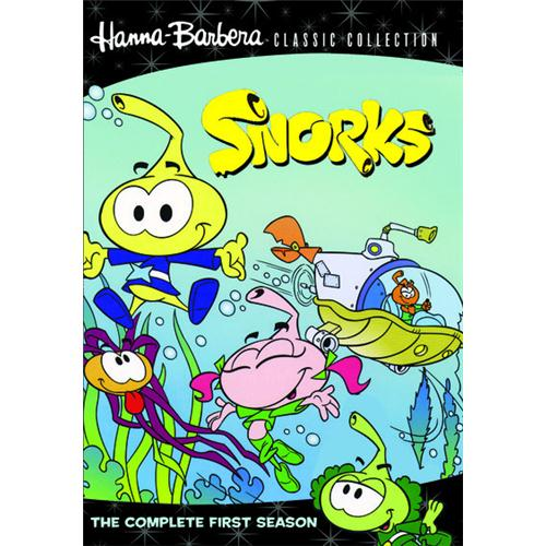 Snorks: Complete Season 1son (2 Disc Set) Md2 DVD Movie 1984 883316647134