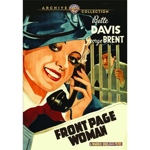 Front Page Woman DVD Movie 1935 883316648124