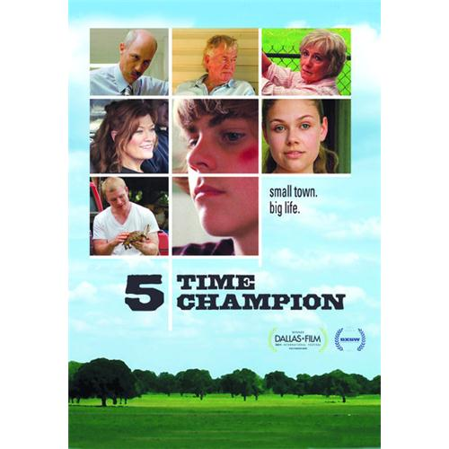 5 Time Champion DVD Movie 2011 - Drama Movies and DVDs