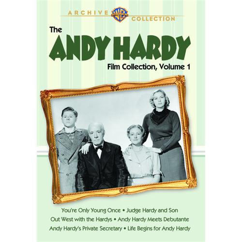 Andy Hardy Collection, The: Volume 1olume 1 (6 Disc Set) DVD Movie 1937-41 - Comedy Movies and DVDs