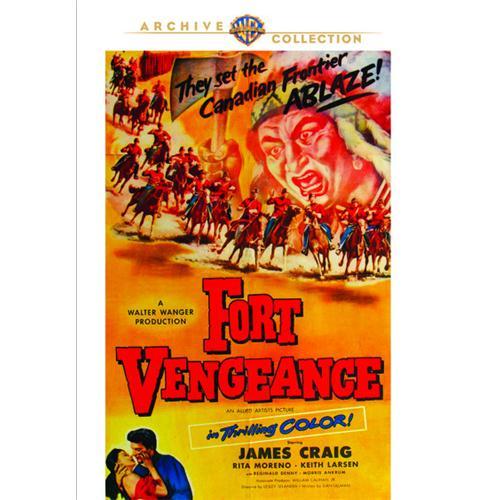 Fort Vengeance DVD Movie 1953 883316716700