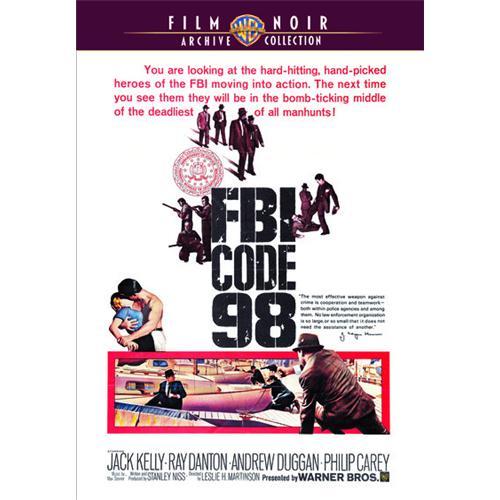 Fbi Code 98 DVD Movie 1963 883316752630