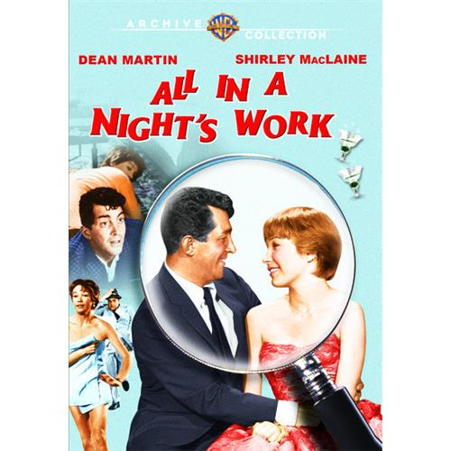 All In A Nights Work (Pmt) DVD Movie 1961 - Comedy Movies and DVDs