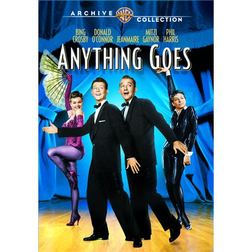 Anything Goes (Pmt)Md2 DVD Movie 1956 - Music Video and Concerts Movies and DVDs