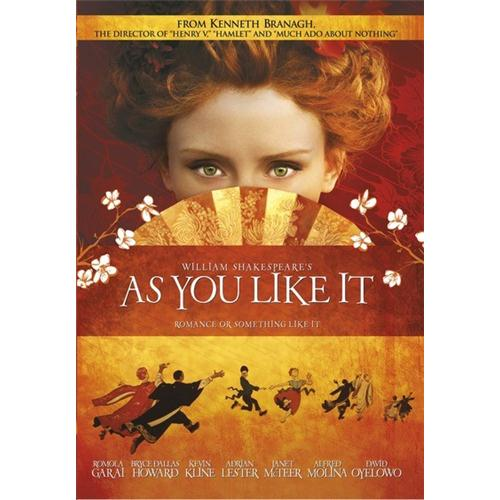 As You Like It DVD Movie 2006 883316769959