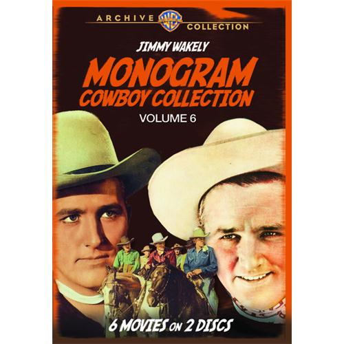 Monogram Cowboy Collection Volume 6 - Starring Jimmy Wakely(2 Disc Set) DVD Movie 1946-49 883316788127