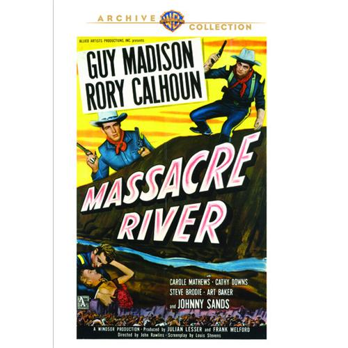 Massacre River DVD Movie 1949 883316789872
