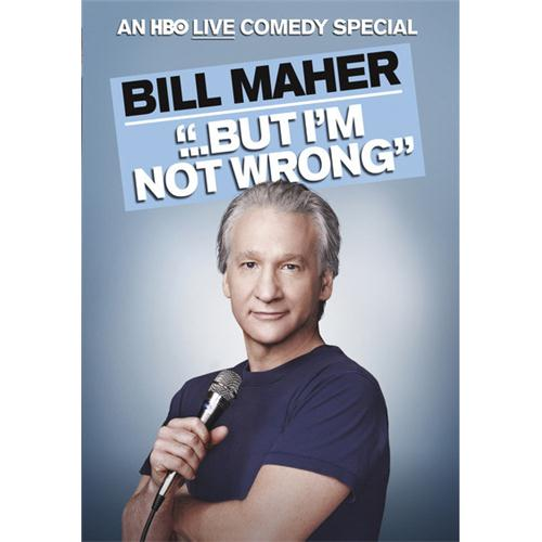 Bill Maher: But Im Not Wrong DVD Movie - Comedy Movies and DVDs
