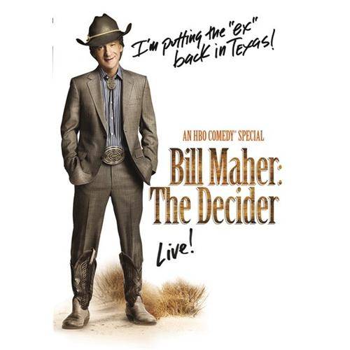 Bill Maher: The Decider DVD Movie - Comedy Movies and DVDs