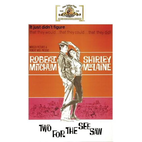 Two For The Seesaw DVD Movie 1962 883904201410