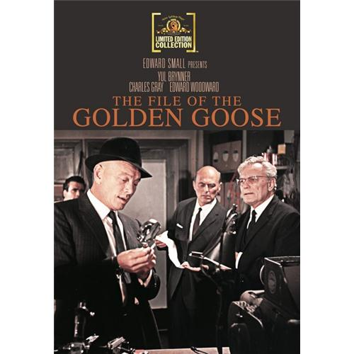 The File Of The Golden Goose DVD Movie 1969 883904240167
