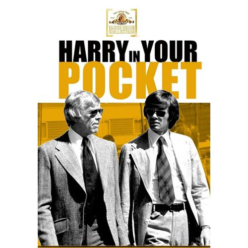 Harry In Your Pocket DVD Movie 1972 883904243274