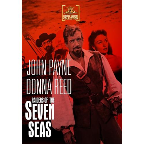 Raiders Of The Seven Seas DVD Movie 1953 - Action and Adventure Movies and DVDs