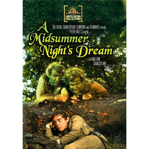 A Midsummer Night's Dream (1969) DVD Movie 1968 - Comedy Movies and DVDs